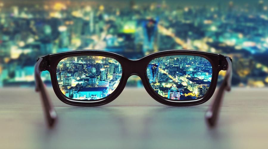 Очки в современном мире