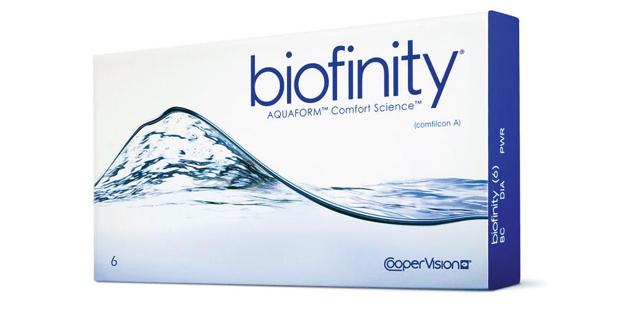 Двухнедельные линзы Biofinity